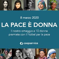 8 MARZO 2020   La pace è donna!