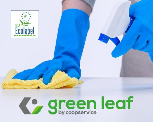 Coopservice sempre più Green: servizi di pulizia a marchio Ecolabel